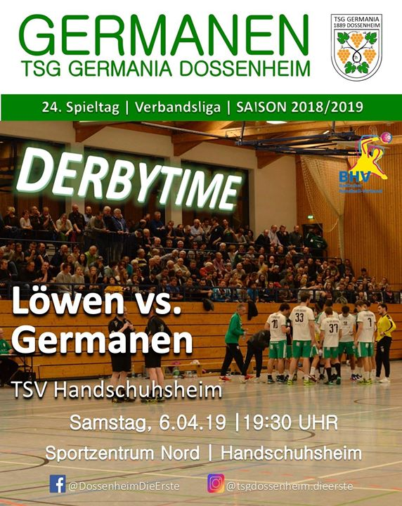Derbytime in Handschuhsheim Am k